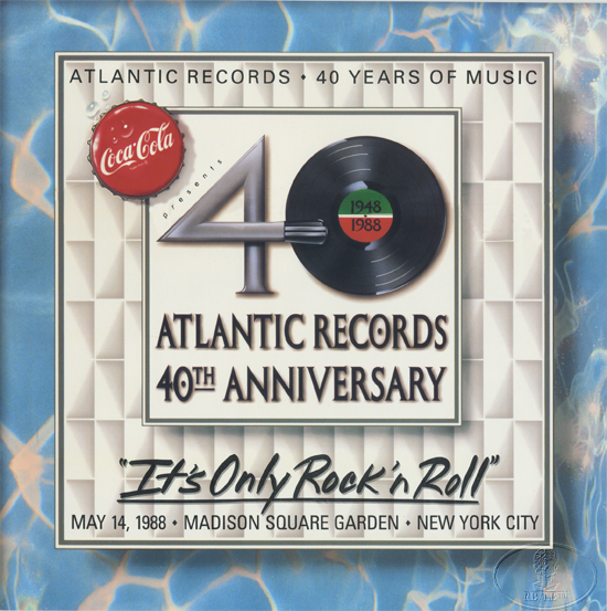 ATLANTIC RECORDS 1988 40th ANNIVERSARY CONCERT PROGRAM PROGRAMME LED ZEPPELIN