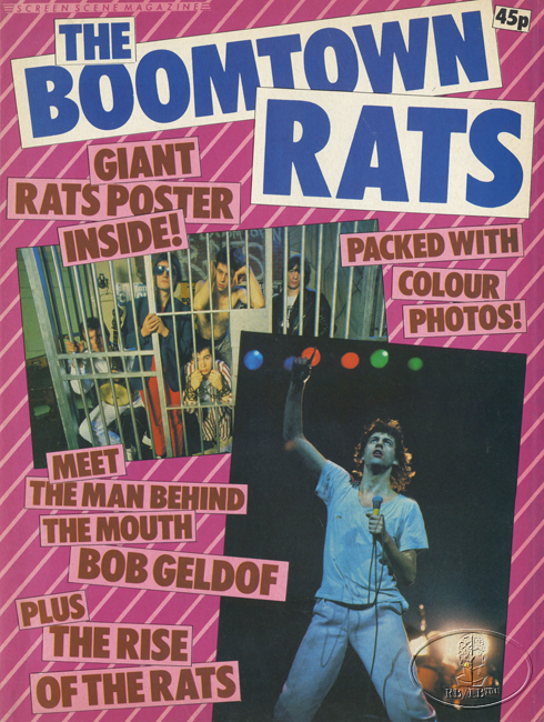 BOOMTOWN RATS 1979 MAGAZINE & FOLD-OUT POSTER