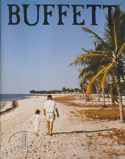 JIMMY BUFFETT 1987 SUMMER TOUR Concert Program Book Programme