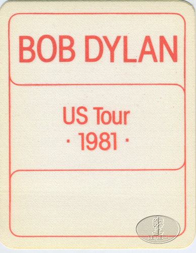 Bob Dylan - 1981 U.S. Tour Opening Night