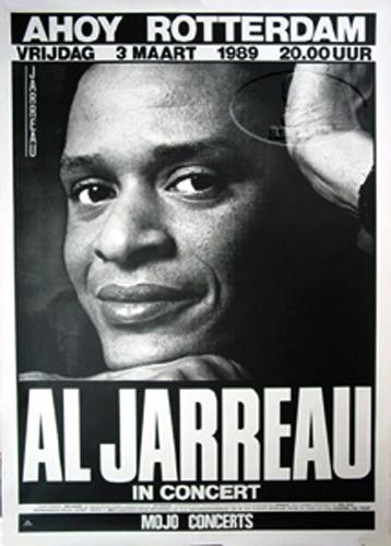 Al Jarreau 1989 Tour Concert Poster