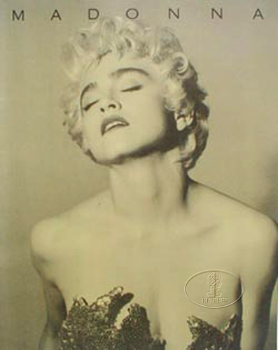 MADONNA 1987 WHO'S THAT GIRL Tour Concert Program Programme Book