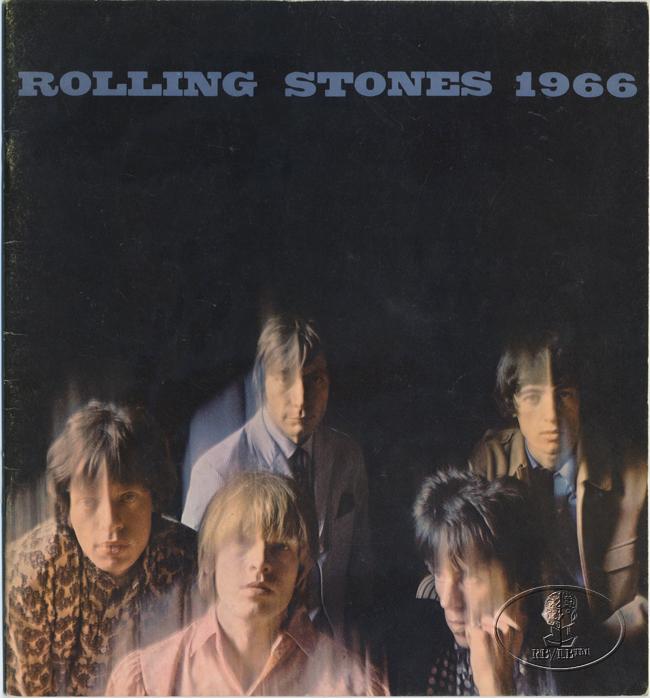 ROLLING STONES 1966 U.S. Tour Concert Program Programme Book