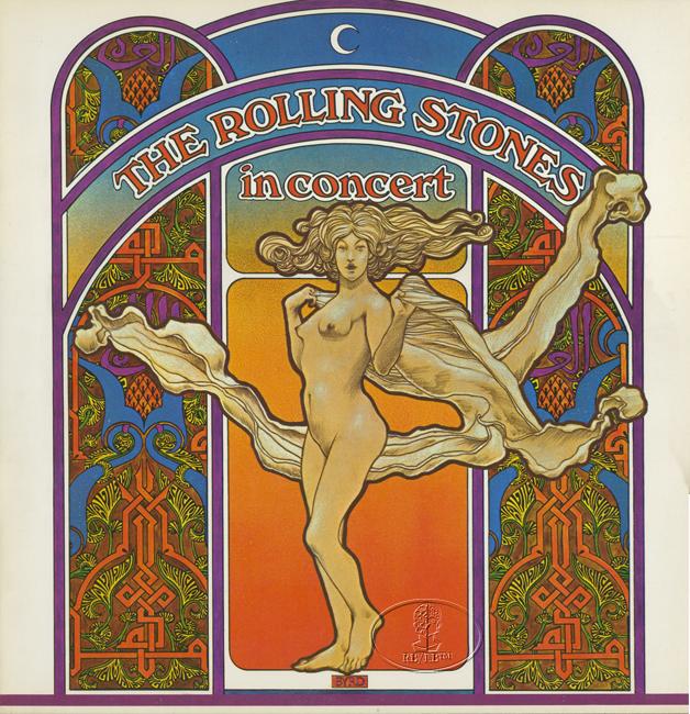 ROLLING STONES 1969 LET IT BLEED Tour Concert Program Programme Book