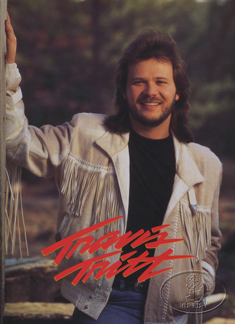 TRAVIS TRITT 1992 T.R.O.U.B.L.E Tour Concert Program