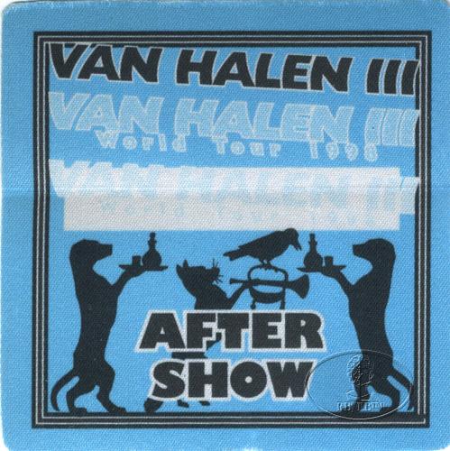 Halen Iii Van Halen Iii 1998 World Tour