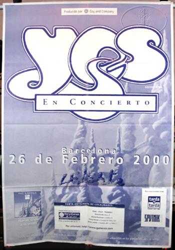 Yes ladder tour barcelona spain 2000 jon yes pinterest